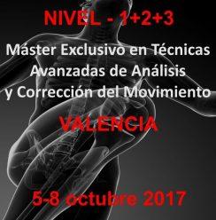 octubre master analisis y corrección del movimiento Valencia