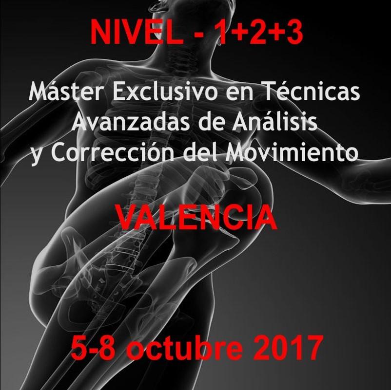 master en tecnicas avanzadas de analisis y corrección del movimiento Valencia