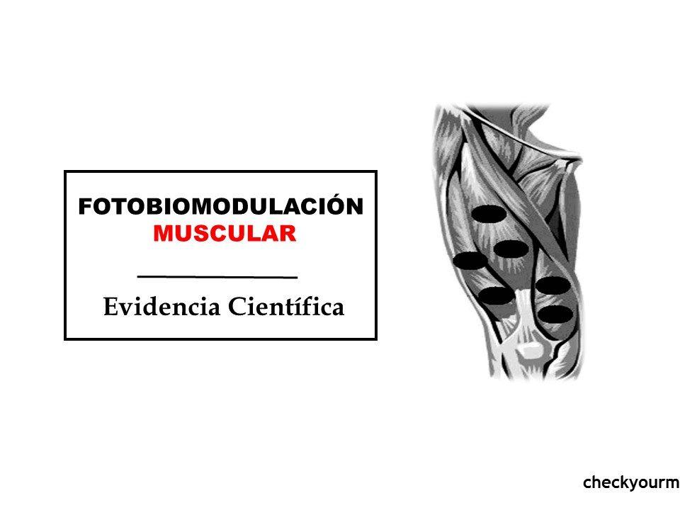 fotobiomodulación muscular