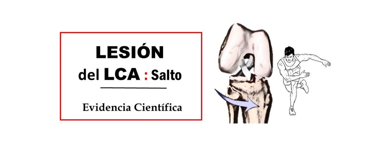 Lesión del ligamento cruzado anterior (LCA) saltos