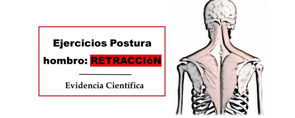 ejercicios retraccion hombro