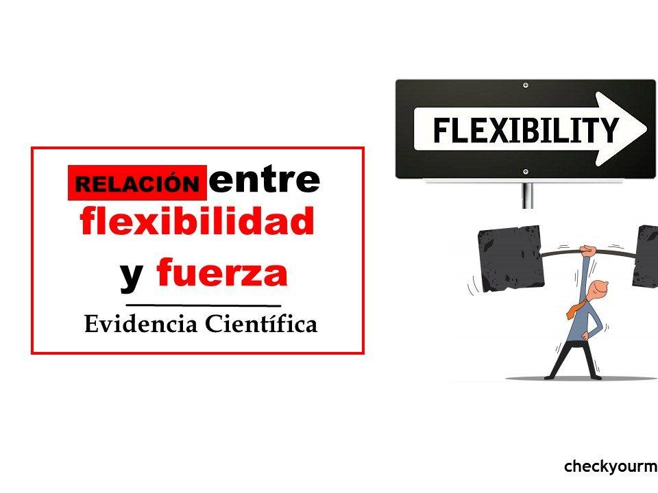 entrenamiento relacion entre flexibilidad y fuerza