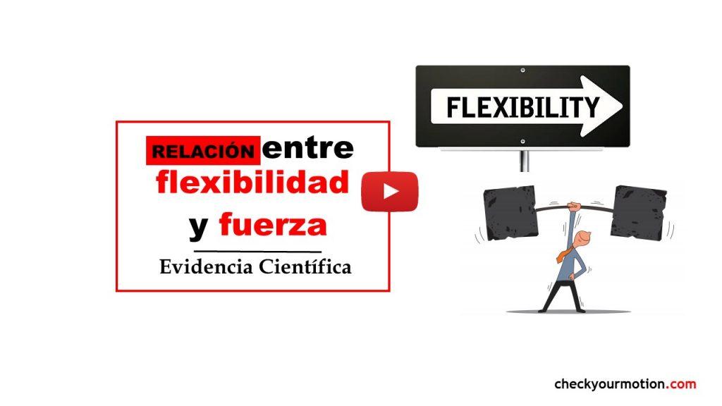 relacion entre flexibilidad y fuerza