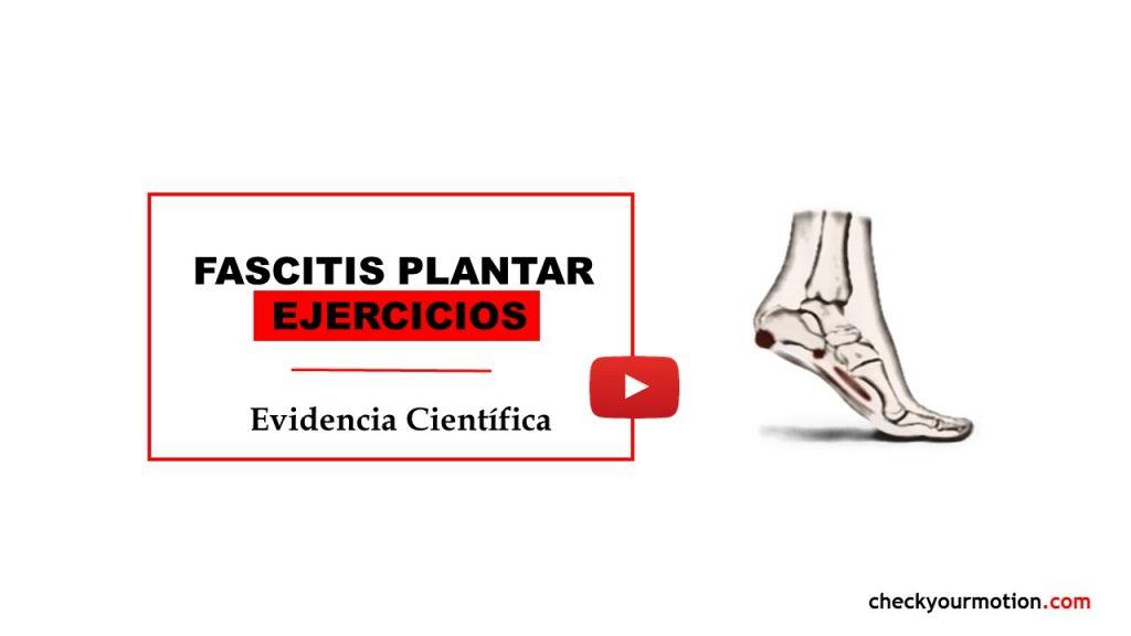 FASCITIS EJERCICIOS PLANTAR