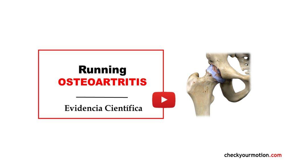 Running correr y osteoartrittis artrosis