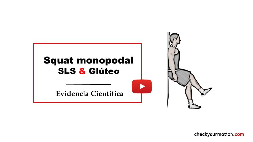 squat monopodal gluteo medio