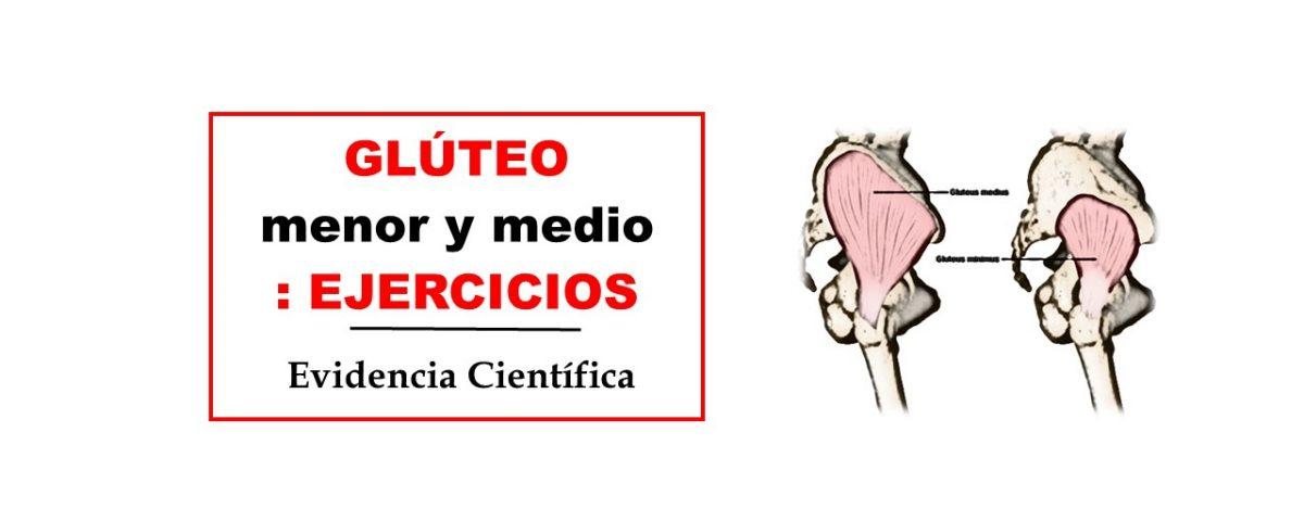 EJERCICIOS GLUTEO MENOR Y MEDIO