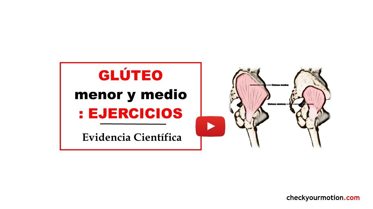 GLUTEO MENOR Y MEDIO