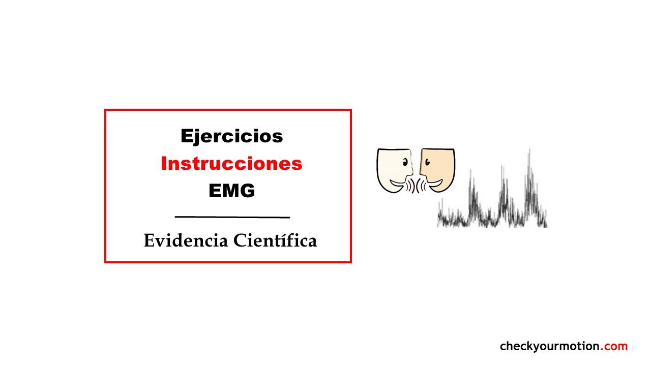 Ejercicios instrucciones EMG