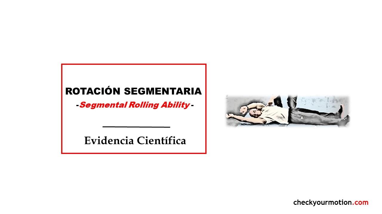 Formación para entrenadores y fisios: rotación segmentaria -Segmental Rolling Ability-