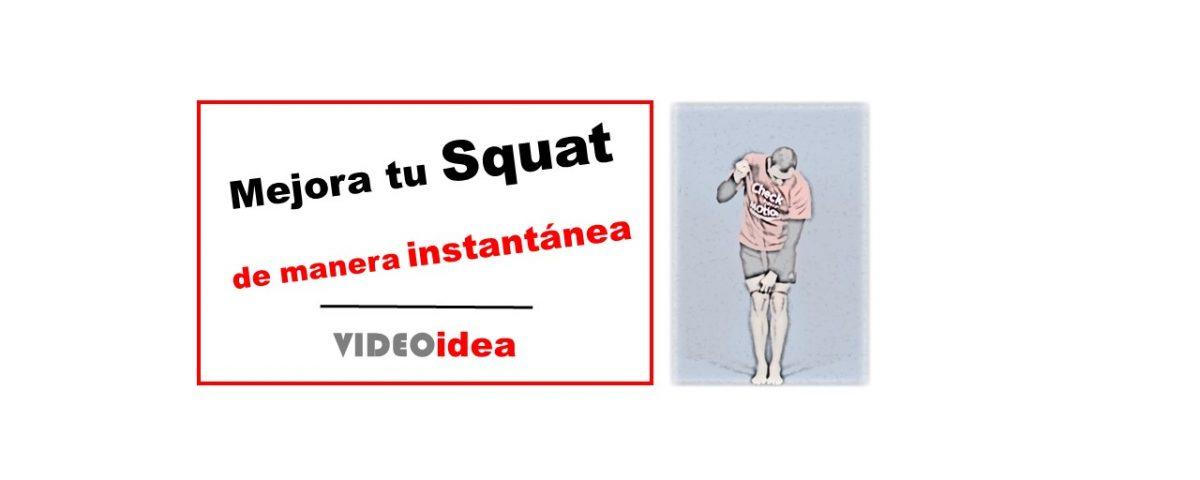 Mejora tu squat de manera instantánea