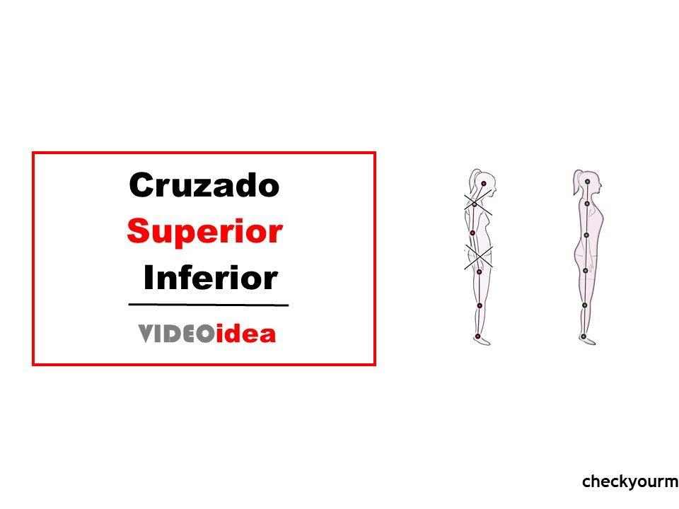 ejercicio para el cruzado superio e inferior
