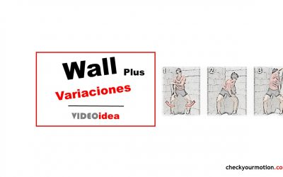 Combo Abductores de Cadera y Core: Wall Plus variaciones