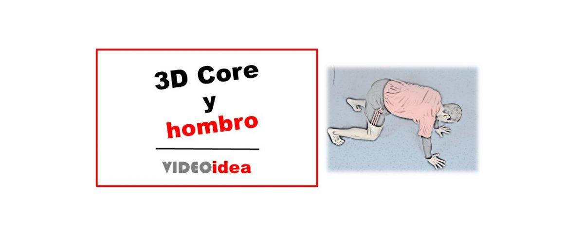 ejercicio 3d core y hombro