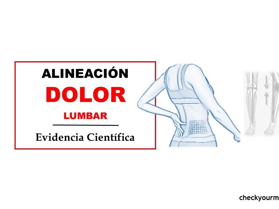 Dolor lumbar y desalineación de rodilla