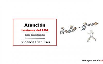 Lesiones del LCA sin contacto
