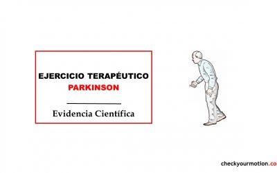 Ejercicio Terapéutico Parkinson