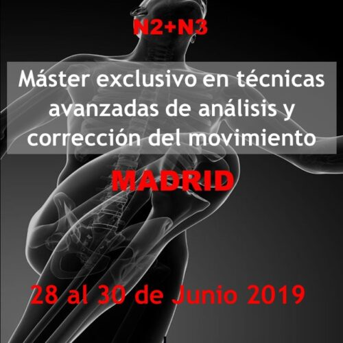 Master correccion de movimiento madrid 2 y 3