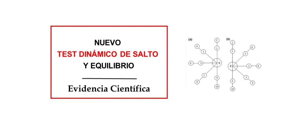 NUEVO TEST DINÁMICO DE SALTO Y EQUILIBRIO CONTROL MOTOR