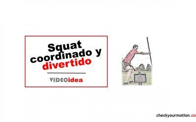 Squat con coordinación de movimientos