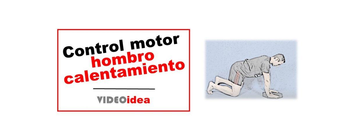 Control motor del hombro calentamiento