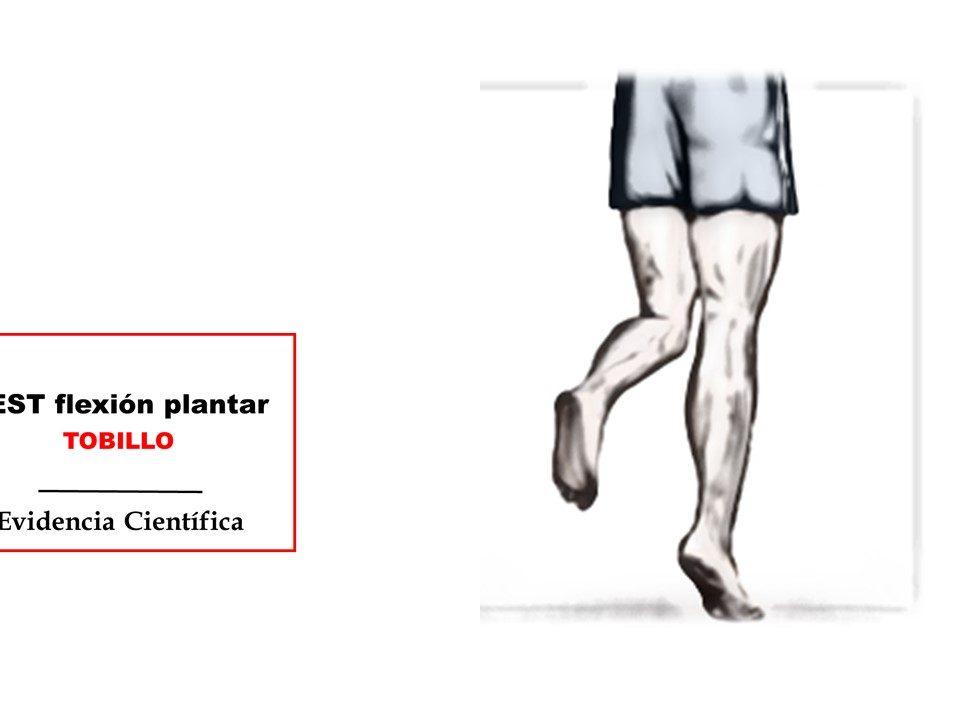 Flexión plantar de tobillo TEST fuerza