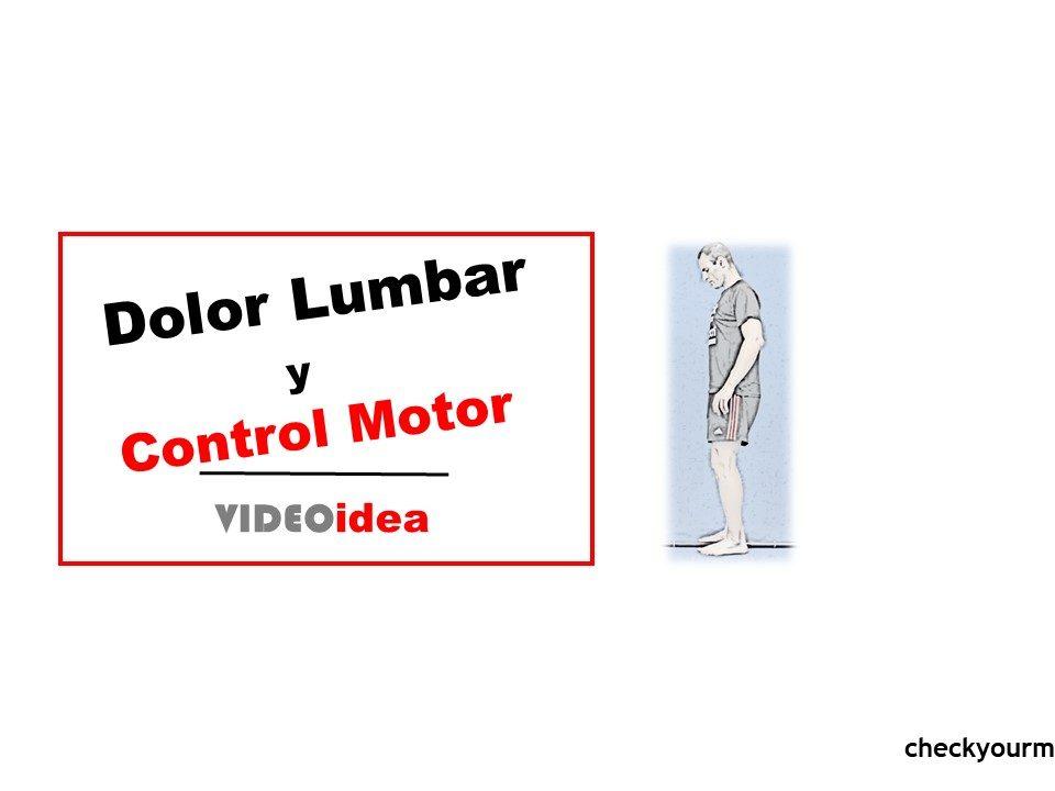Control Motor Pelvis dolor lumbar
