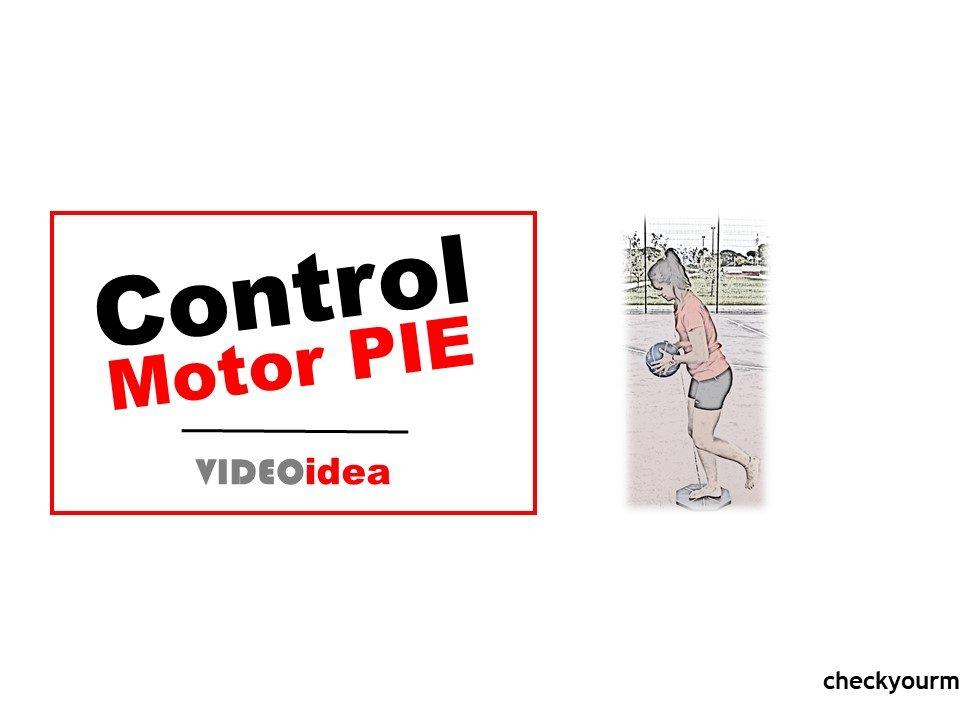 Músculos del pie control motor