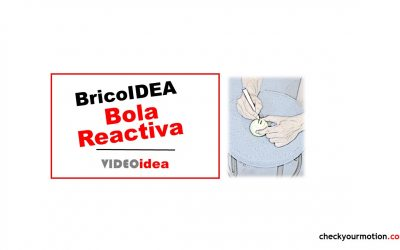 BricoIDEA Bola Reactiva: visomotriz