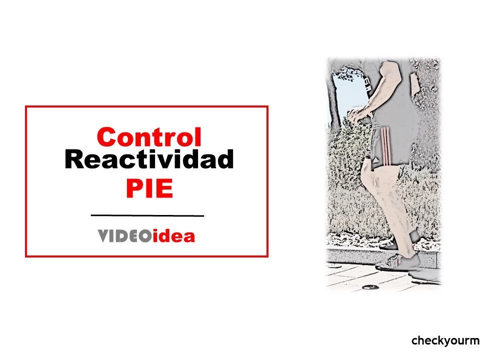 ejercicio para pies reactivos