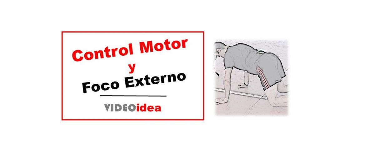 control motor y foco externo
