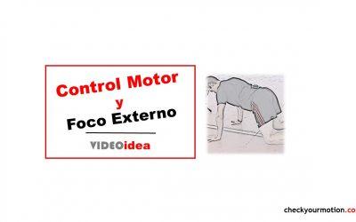 Core: control motor y foco externo