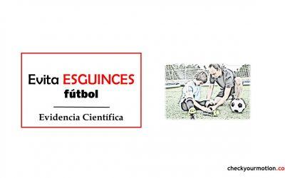 Cómo prevenir esguinces de tobillo en fútbol