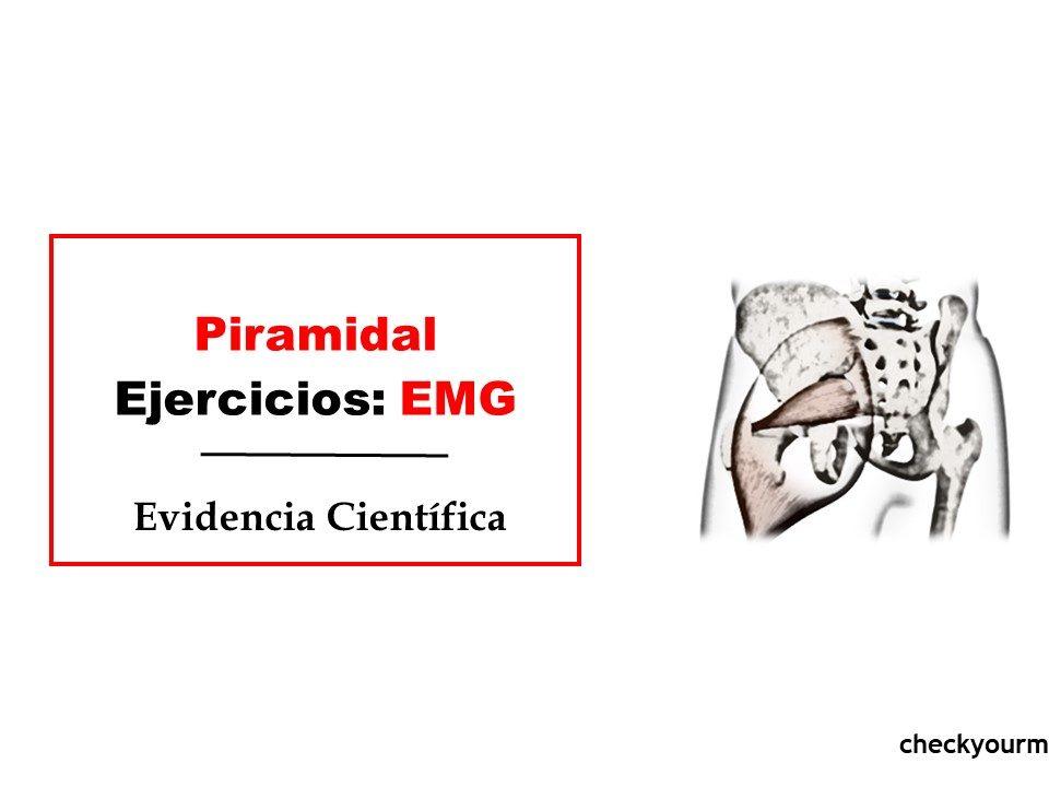 piramidal ejercicios actividad emg