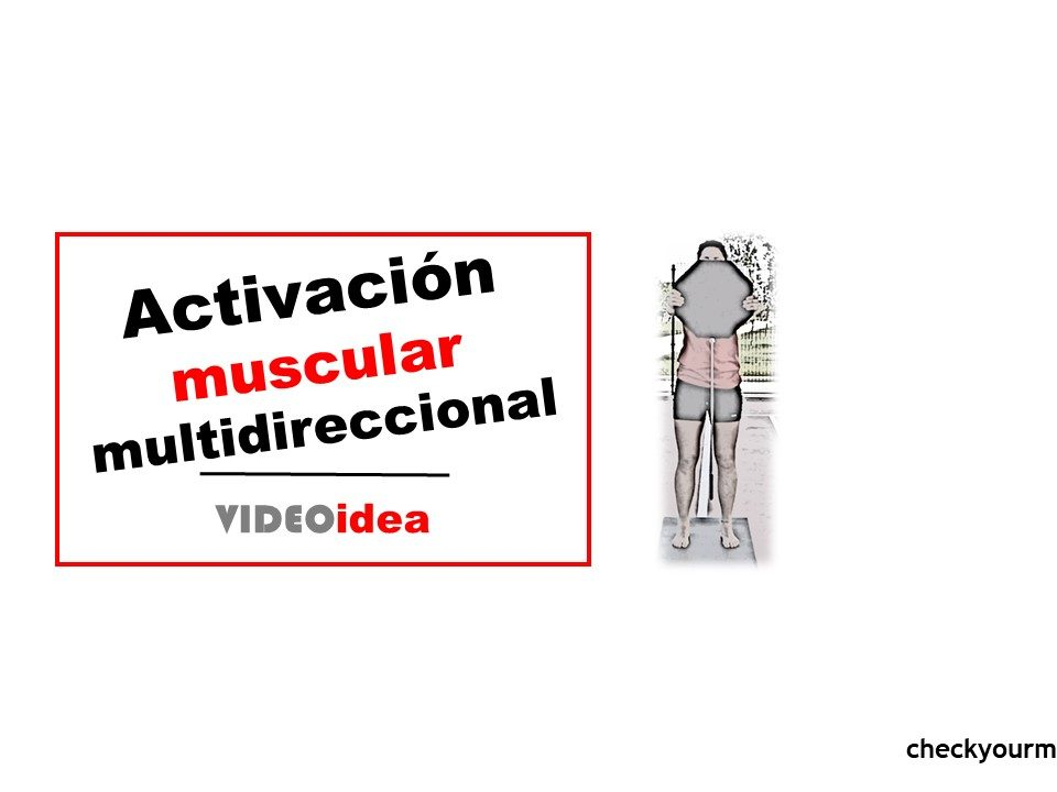 Activación muscular multidireccional
