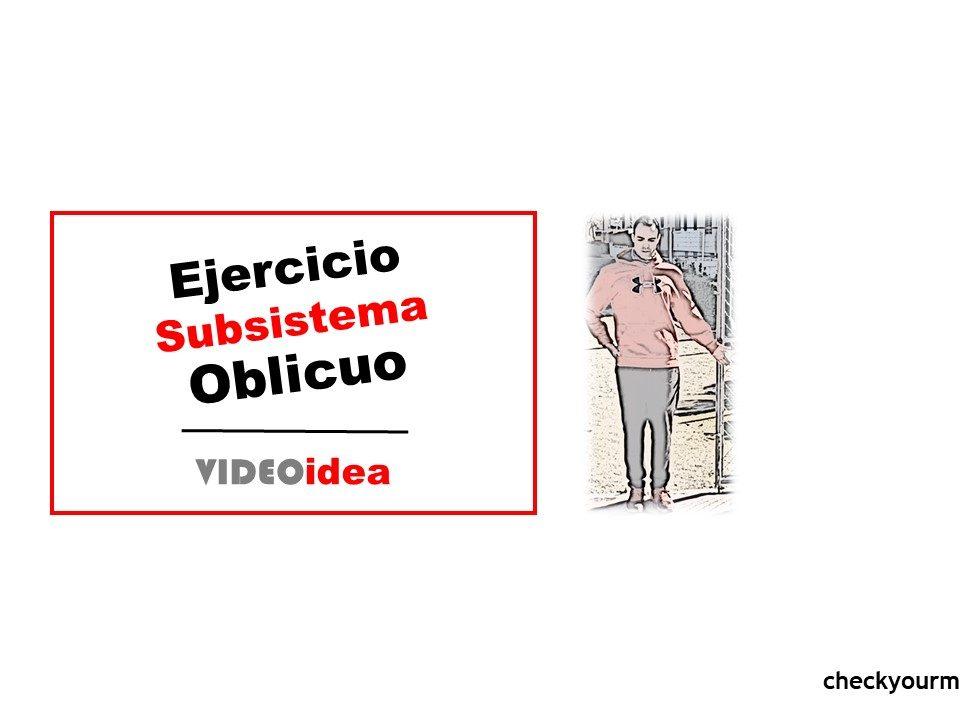 Ejercicio Subsistema Oblicuo