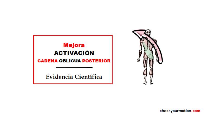 EJERCICIO TERAPÉUTICO cadenas musculares