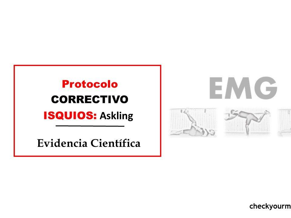 Ejercicio correctivo isquios: ASKLING