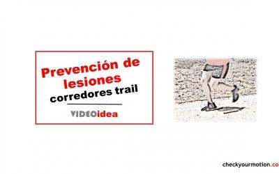 Protocolo de ejercicios para prevención de lesiones en Trail Running