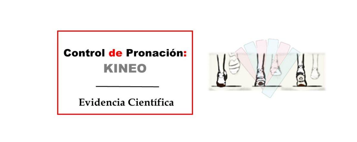 Control de pronación pie kinesio