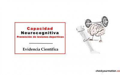 Capacidad neurocognitiva para la prevención de lesiones