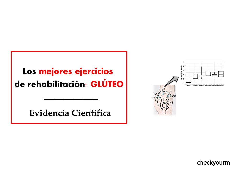 Los mejores ejercicios de rehabilitación glúteo
