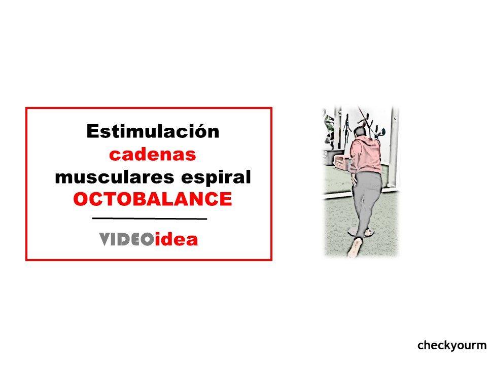 ejercicio de cadenas musculares espiral