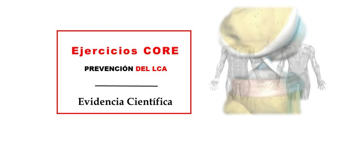Ejercicios para core prevención del LCA