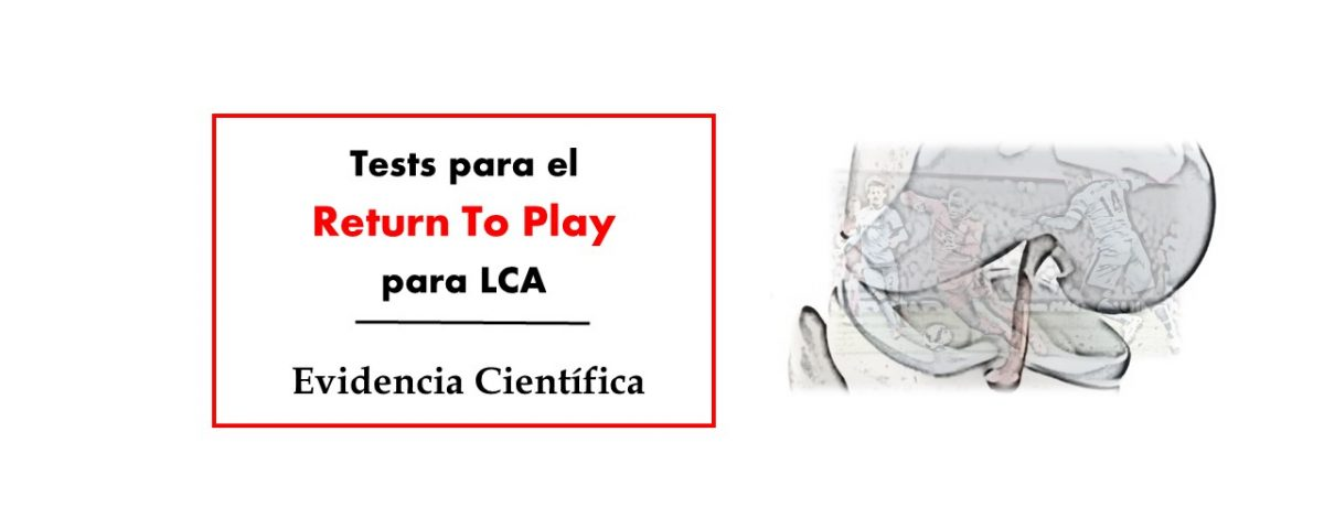Test para el Return To Play para LCA