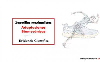 Biomecánica con zapatillas maximalistas: lesiones
