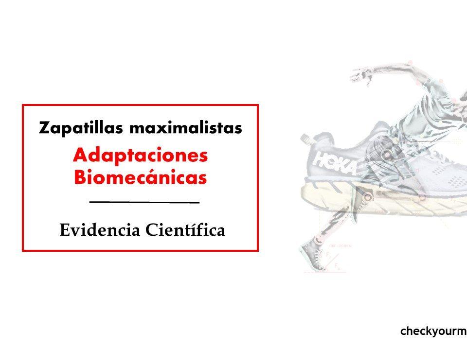 biomecanica zapatillas maximalistas adaptaciones