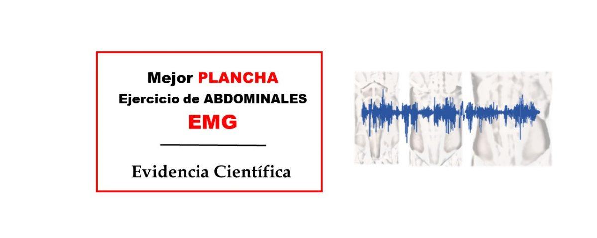 La mejor plancha ejercicio abdominales EMG