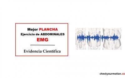 La mejor plancha: ejercicio abdominales EMG