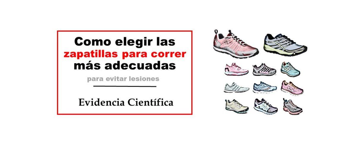 Como elegir las zapatillas para correr más adecuadas para evitar lesiones